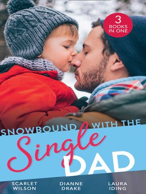 cover image of Snowbound With the Single Dad
